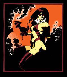 Vampirella//Mike Mignola/M/ Comic Art Community GALLERY OF COMIC ART