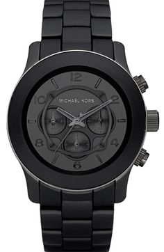 Michael Kors OFF!>> Michael Kors Polyurethane Watch next gift for my husband Jewelry Accessories, Fashion Accessories, Mk Watch, Vetement Fashion, Nordstrom, Patek Philippe, Mode Inspiration, Mode Style, Swagg