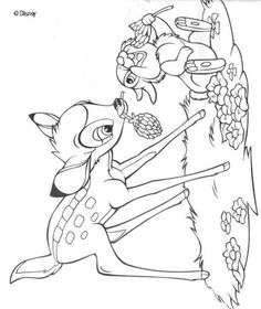 bambi coloring pages - Bing Images