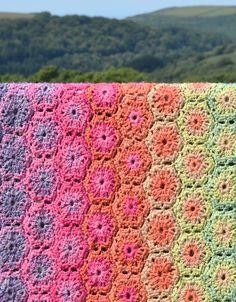 Rita Crochet Blanket Pattern - PDF Crochet Pattern £3.50