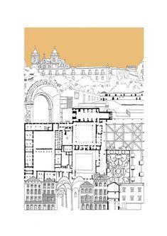 Galería de Estas intrincadas ilustraciones presentan ciudades fantásticas en detalle - 7