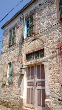 historic mansion in Cunda island