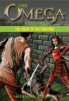 Completed cover for book 3 in The Omega Children Series. Done on a Wacom tablet in Photoshop.