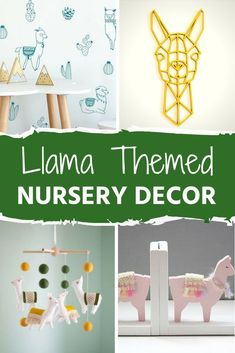 Irresistibly Adorable Llama Decor for the Nursery is part of Irresistibly Adorable Llama Decor For The Nursery Can& say that I know too much about llamas personally, other than the fact that they& - Kids Wall Decor, Nursery Wall Decor, Nursery Themes, Baby Decor, Girl Nursery, Room Decor, Nursery Artwork, Playroom Ideas, Nursery Ideas