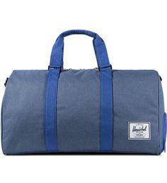 Herschel Supply Co. Cobalt Crosshatch Novel Duffle Bag | HYPEBEAST Store. Shop Online for Men's Fashion, Streetwear, Sneakers, Accessori...
