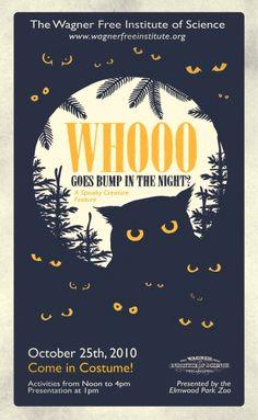 Boo...! #owl #illustration