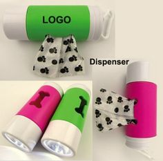 For the dog lovers on your team  The dog bag dispenser with flashlight. Twist action flashlight turns on/off and features extra bright white LED light. Attaches to leash, belt loop etc. It's very convenient to use, welcome your custom logo.  #marketingtips, #holidaygifts, #giftsgalore2016  http://tuttlemarketing.com