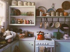 crazy collected kitchen