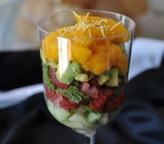 Fruit parfait spiked with Indian spices -- love it! Ginger juice, chaat masala and saffron are unexpected and really bring out the flavor of the fruit. You could top this off with some crunchy raw nuts.