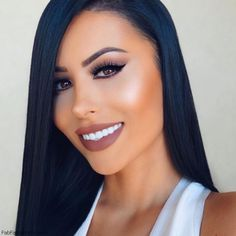 Beauty blogger Amrezy wearing Dolce K shade from Lip Kit by Kylie. #makeup #amrezy