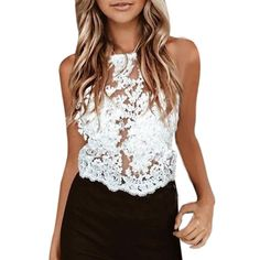 >> Click to Buy << 2017 new brandy Sexy Hallow Out tops Tops ladies camisole white lace bralette sexy tank top women summer crop top Best MY24A #Affiliate