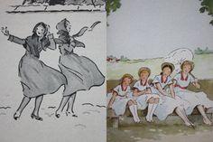Les quatre filles du docteur March, illustré par André Pécoud
