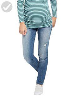 c623c3df8d629 Motherhood Indigo Blue Premium Secret Fit Belly Skinny Leg Maternity Jeans  - All about women (*Amazon Partner-Link)
