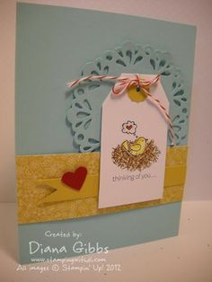 by Diana Gibbs, Stamping with Di