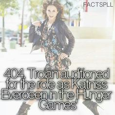 Interesting concept... Jen and Troian are both awesome, but in my opinion Katniss really should have been played by a woc, because that's what she was stated as in the book.