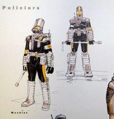 The Fifth Element: Concept Art and Design Moebius (Jean Giraud) Jean Giraud, Conceptual Sketches, Conceptual Art, Character Concept, Character Design, Character Ideas, Classic Sci Fi Movies, Moebius Art, Concept Art Gallery