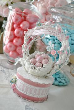 Shayla's Shabby Chic Springtime Birthday Party | CatchMyParty.com