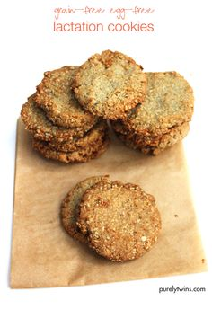 #grainfree lactation cookies, although these cookies are so good everyone will want them. They are made with sunflower seeds instead of oats for those they avoid grains. Paleo