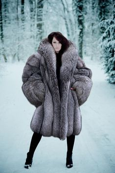 Massive Fur Coat | Down Coat