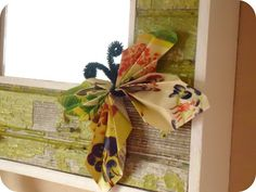 Homemade Serenity: Why Don't You Make Magazine Butterflies?