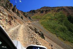Shelf Road in Colorado near Cripple Creek - hold on tight...