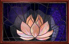 Large Lotus Panel