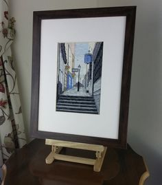 Christmas Steps (Bristol UK) - Cross Stitch Kit