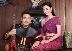 Traditional Thai Clothing, Mai Davika, Blackpink Fashion, Sari, Asian, Costumes, Model, Clothes, Dresses