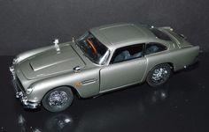 Danbury Mint 1/24 Die Cast Car 1964 Aston Martin DB5 James Bond 007 Car Silver