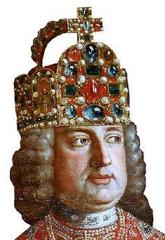 Kaiser Franz I. Stephan von Lothringen mit der Reichskrone (Hofburg Innsbruck, BHÖ, Foto: A. Prock)