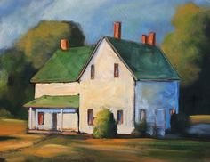 Old Farm House - Painting Style