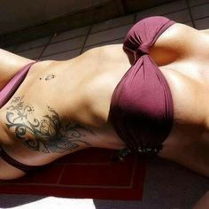 Gorgeous side ink!!  Perfect placement.