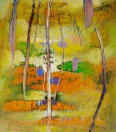 Sendero de bosque ? Rick Stevens, Virtual Art, Square Art, Oil Painting Abstract, Hanging Art, Artist Art, Landscape Art, Oil On Canvas, Contemporary Art