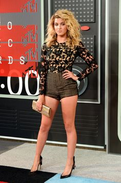 Tori Kelly at the 2015 MTV Video Music Awards. (Photo: Frazer Harrison/Getty Images)