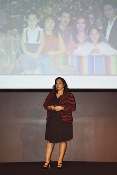 """""""I went to MIT with a 1 year-old. Now, we've received 3 degrees from MIT.""""-- #LATINASTHINKBIG LA presenter Noramay Cadena"""