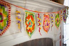 Happy Everything Bunting! Joining Motifs pattern on Craftsy.com ~ free pattern