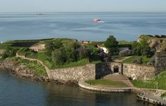 Old Fortress Suomenlinna near Helsinki, Finland Fortification, Old Buildings, Helsinki, Finland, Attraction, Scenery, Water, Travel, Life
