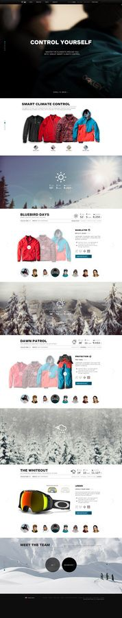 Great product display and landing page