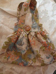Handbag - c1930's fabric