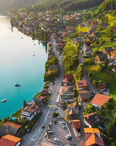 Top 10 Tourist Attraction To Visit in Switzerland - Tour To Planet Beautiful Places In The World, Beautiful Places To Visit, Wonderful Places, Cool Places To Visit, La Provence France, City Landscape, Vacation Places, Beautiful Landscapes, Wonders Of The World