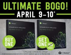 Get ready, get set... BOGO! That's right! BOGO is back, and it's time to Wrap ! Buy one box of wraps and get the other FREE! Available NOW until tomorrow at 11:59PM CT, or while supplies last! Are you seeing double yet ?! #CrazyWrapThing  Contact me for your order! 417-848-4692