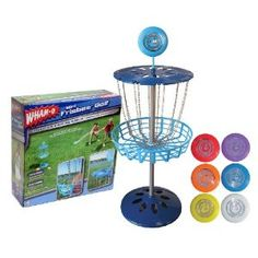 disc golf baskets-got these for Christmas! They have been so fun!