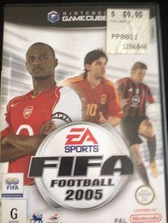 Fifa 2005 Game Cube Nintendo Wii Ea Sports Fifa Nintendo