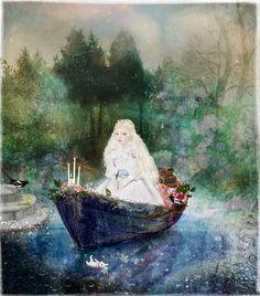 Girl in a boat