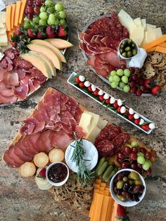 Croatian prosciutto, sausages and cheeses.