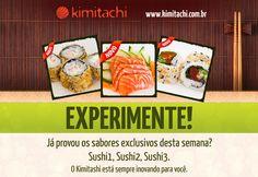 Facebook campaign to Kimitachi, sushi delivery.
