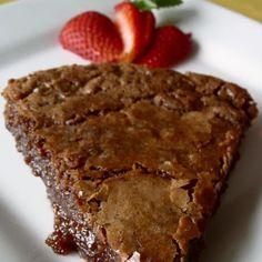 Hot Fudge Pie  with unsweetened baking chocolate.....