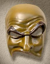 Shapeshifter Mask Catalog: Commedia Masks.  Says Brighella, but I like it for modeling the brow of a scapino, possibly...