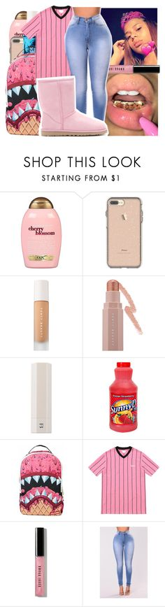 """😥It's Officially Ugg Season!"" by g-herbo ❤ liked on Polyvore featuring Organix, Puma, Sprayground, Bobbi Brown Cosmetics and UGG Australia"