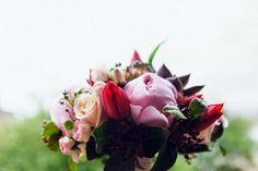 mariage rouge et mint dans les Asturies en Espagne • via Trendy Wedding